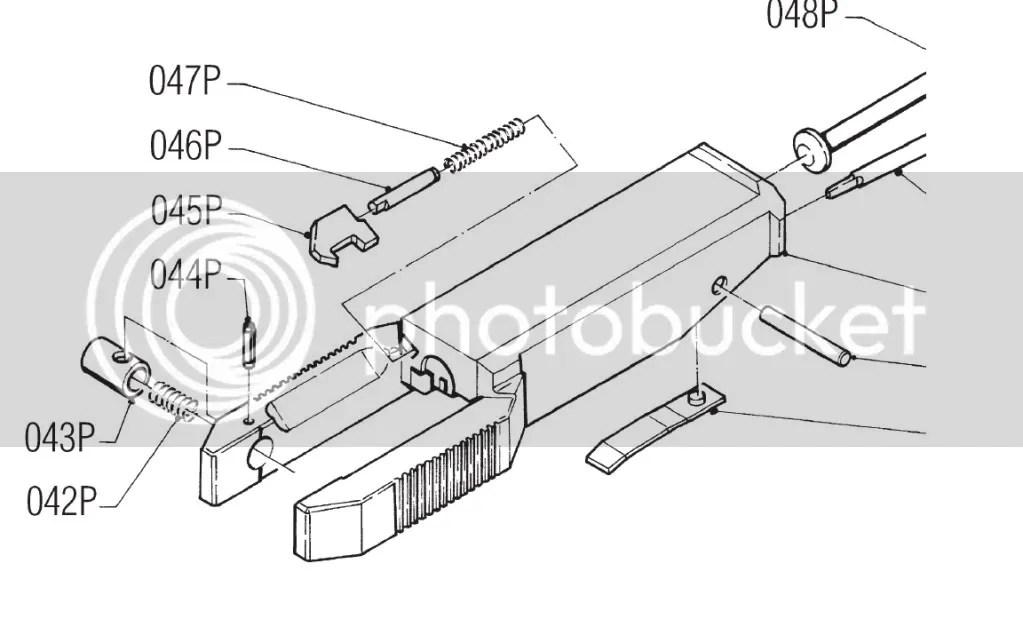 Benelli MP59E Extractor Removal