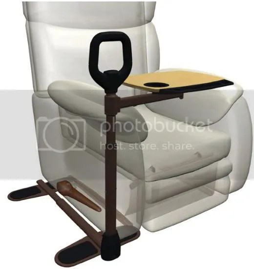 recliner chair laptop stand wooden patio chairs pc keyboard/mouse tray for and 55