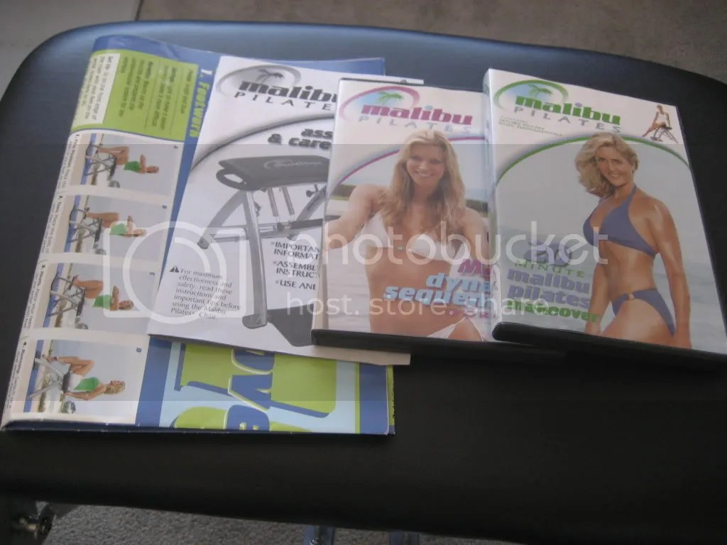 malibu pilates chair graco high coupon fitness program by guthy renker with
