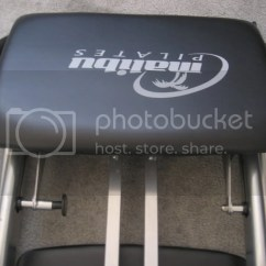 Malibu Pilates Chair Armrest Covers Fitness Program By Guthy Renker With