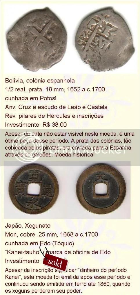 moedas estrangeiras