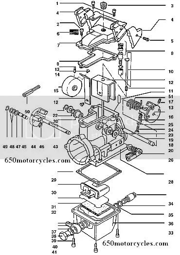 edelbrock quicksilver carburetor diagram genie intellicode chain glide wiring ironhead qwiksilver carb the sportster and buell sorry all i ve got