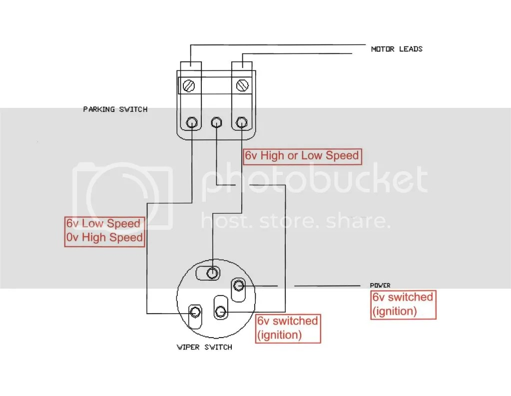 hight resolution of 1952 f1 wiper switch to motor wiring 12vdc question ford truck enthusiasts forums