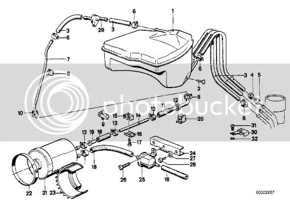 533 Evaporator Purge Valve Vacuum Location • MyE28.com