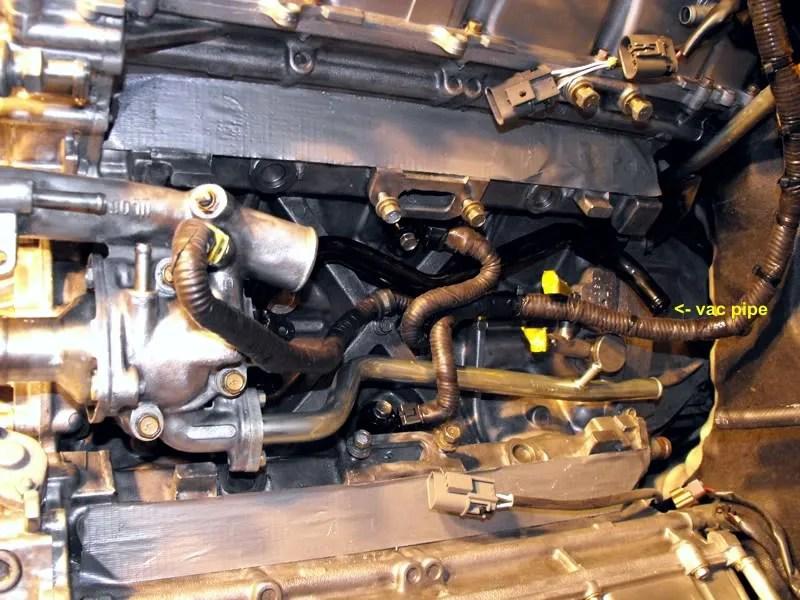 2002 Nissan Pathfinder Knock Sensor Location