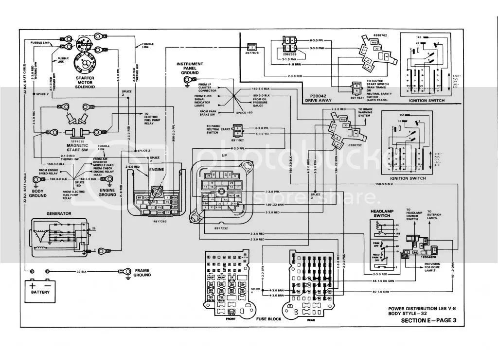 bucket truck wiring diagram