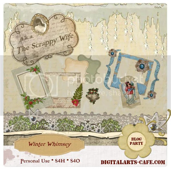 Winter Whimsey Elements, Part 1
