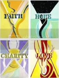 Faith Hope Charity Love