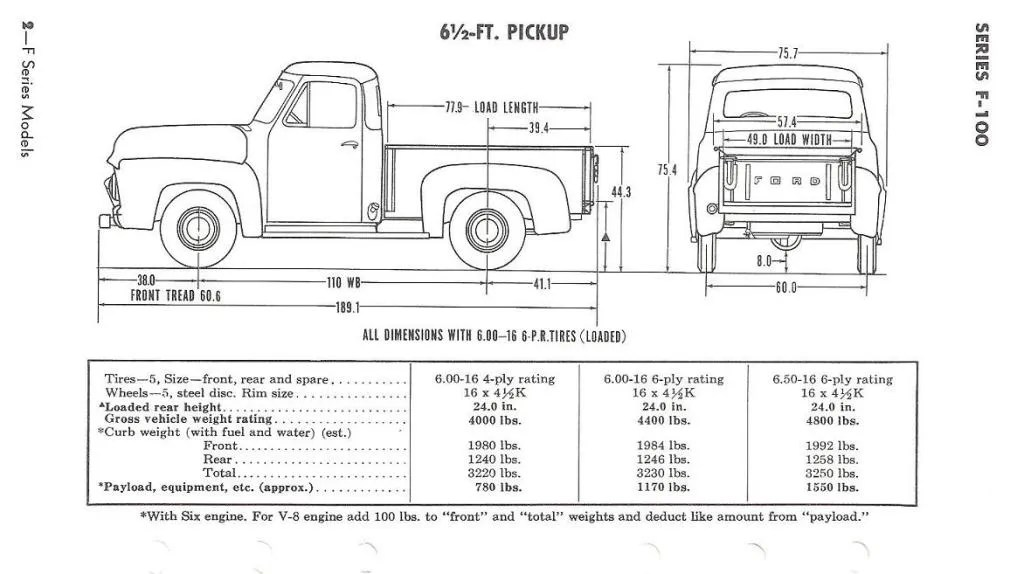 1955 Ford F100 Wiring Diagram 1955 Ford F100 Headlights