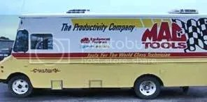 Mac Tool truck