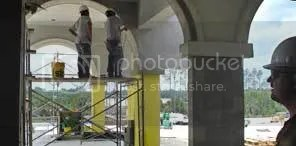 Entrance construction