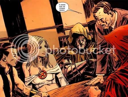 namor, Emma Frost, Dr. Destino, capuz, Norman Osborn