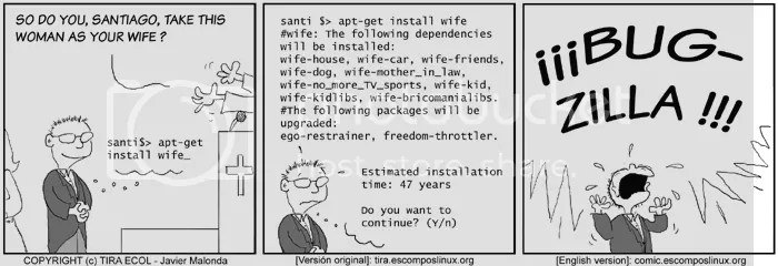 apt-get install wife