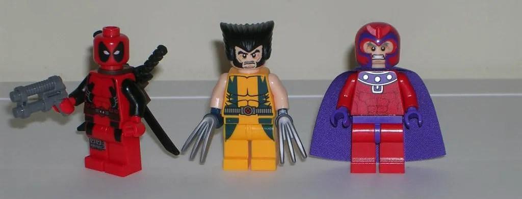 Marvel Super Heroes Wolverines Chopper Showdown 6866 By Lego