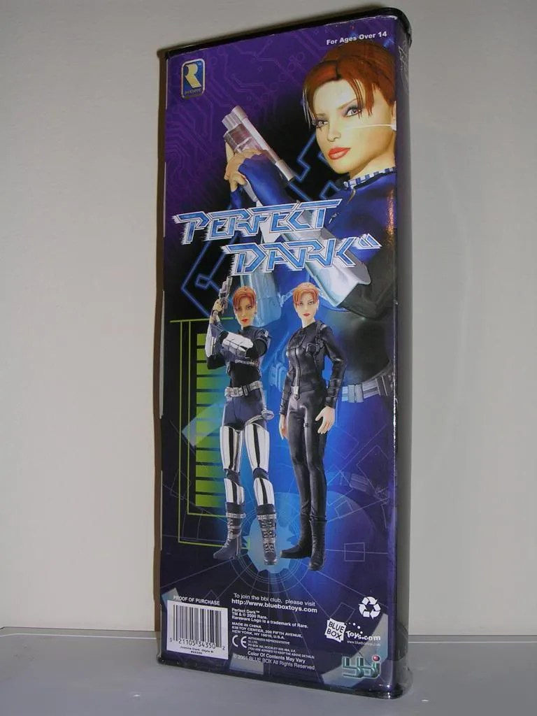 Takara BBI Joanna Dark Black Suit 1:6th Action figure Perfect Dark xbox Figure