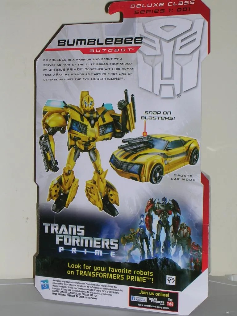 Transformers Prime: Bumblebee by Hasbro | FigureFan Zero