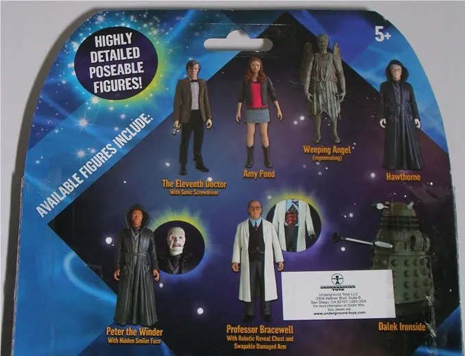 "*NEW /& SEALED Highly detailed /& fully poseable DOCTOR WHO HAWTHORNE 5/"" FIGURE"