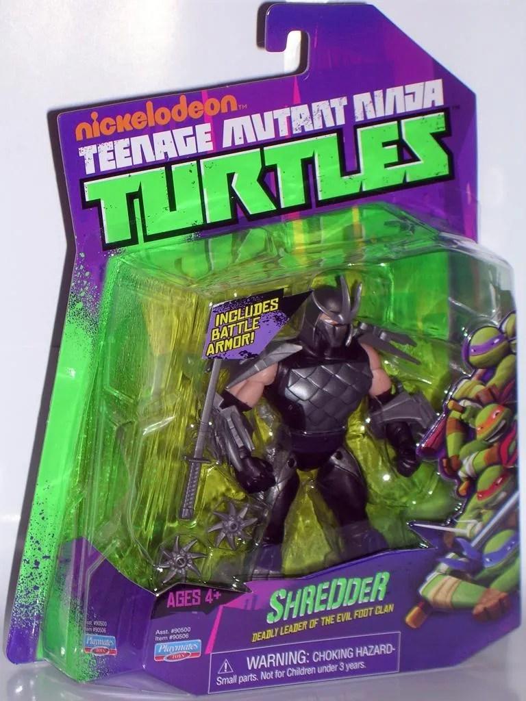 Teenage Mutant Ninja Turtles Shredder Nickelodeon By Playmates