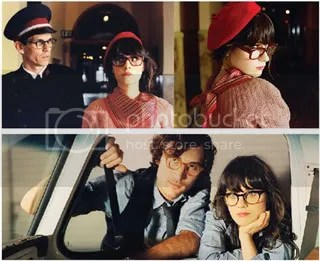Zooey Deschanel for Oliver Peoples