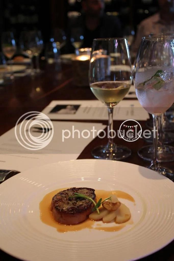 Foie gras paired with 2007 Max Ferd Richter Brauneberger Juffer Sonnenuhr Auslese, Mosel Germany