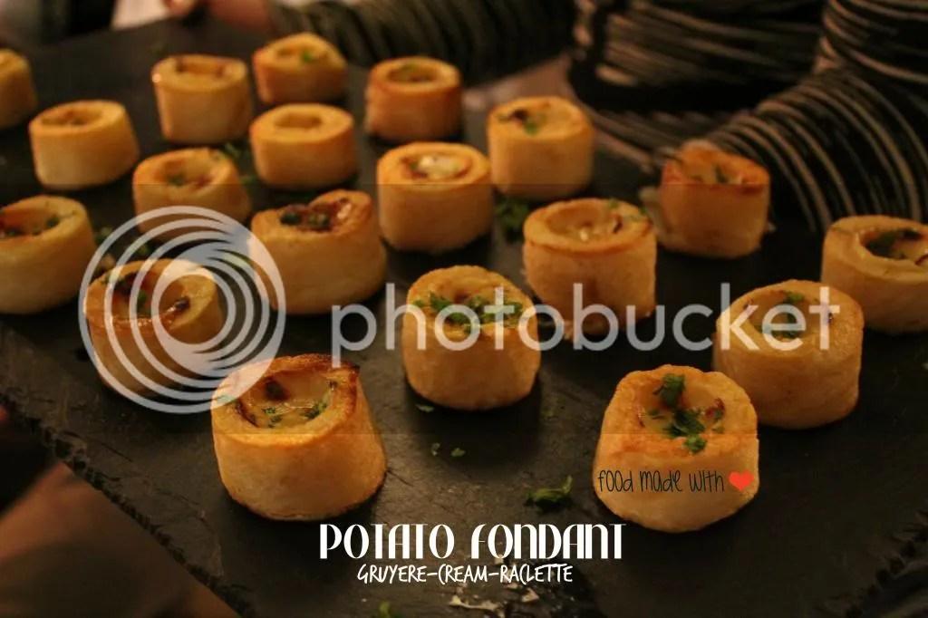 Potato fondant