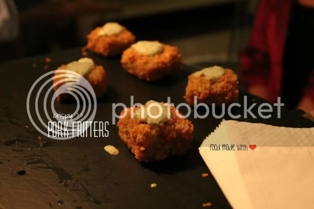 Pork fritters