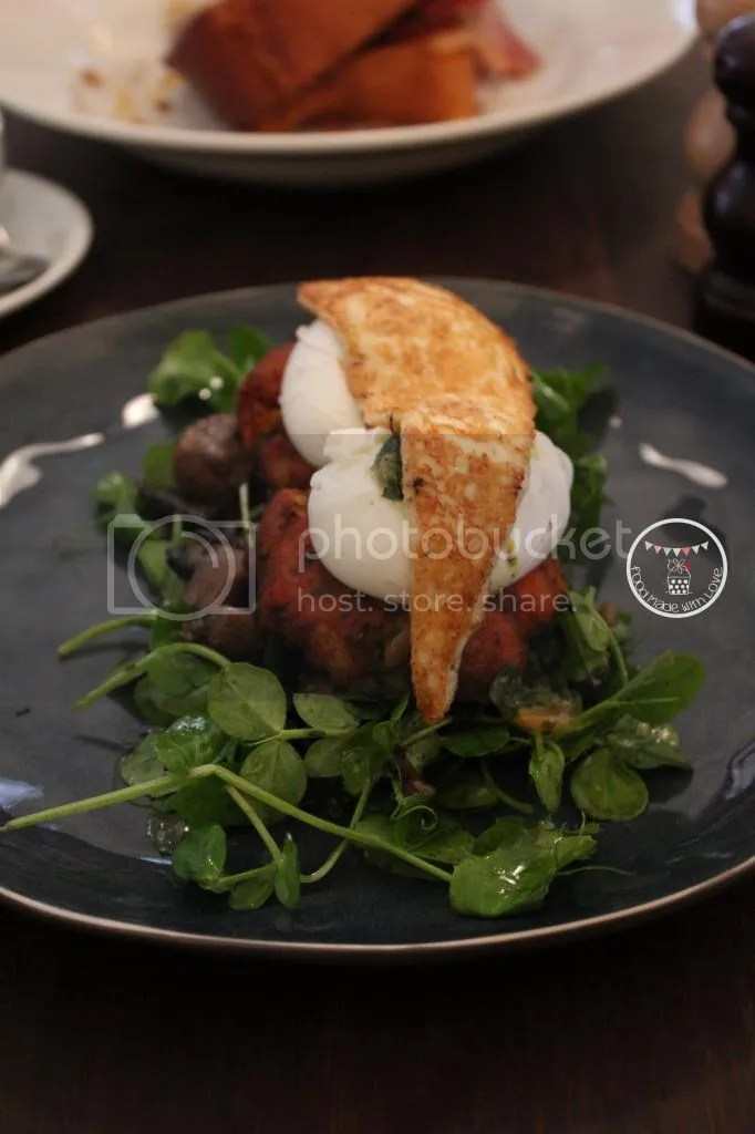 Sweet potato and caramelised onion fritters