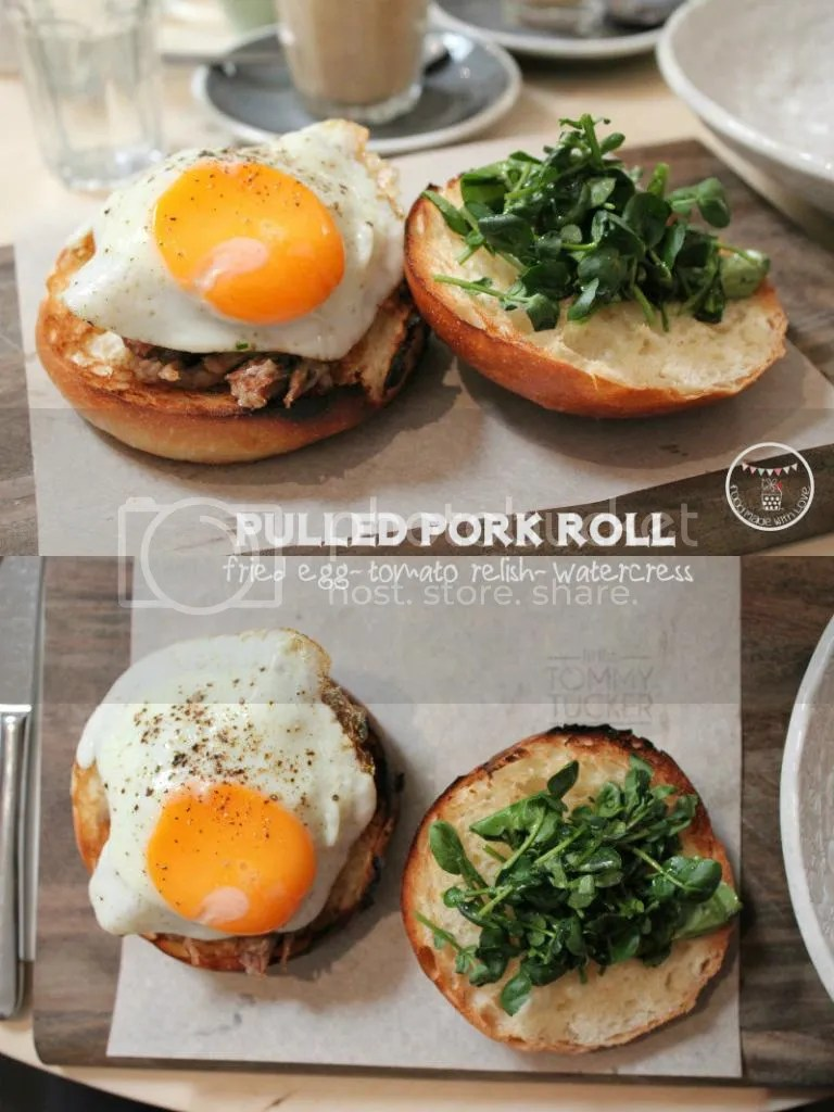 pulled pork roll