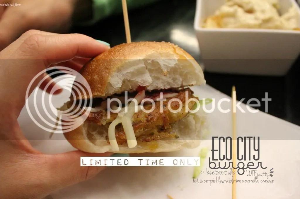 Eco City burger