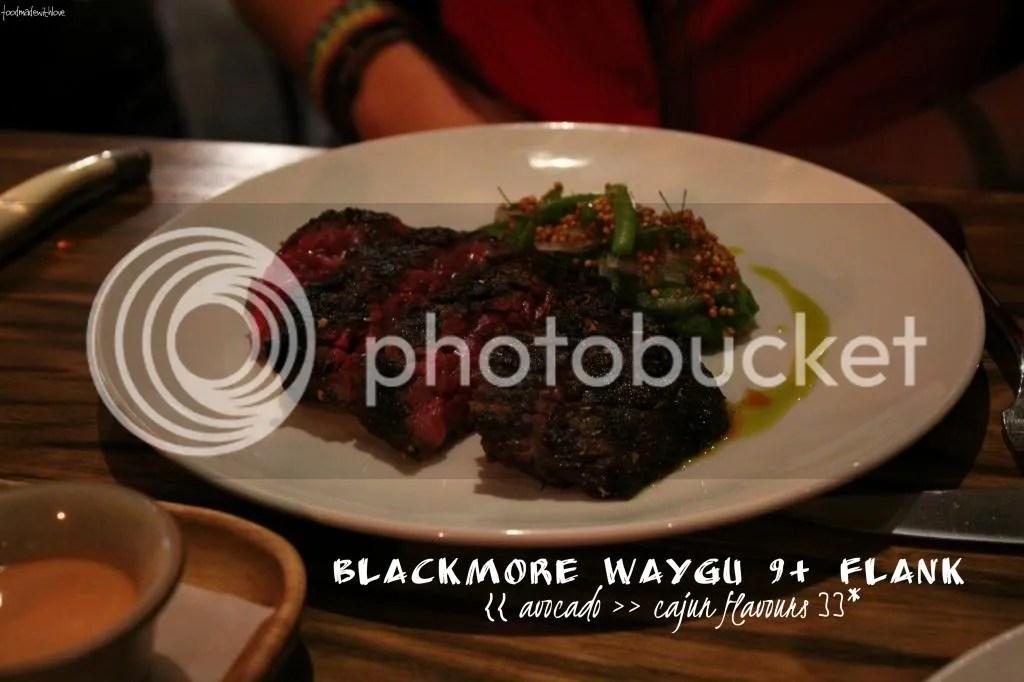 Blackmore waygu flank