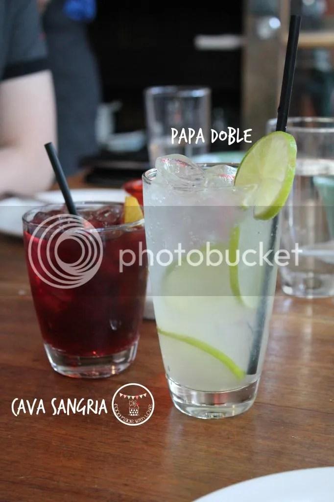 Drinks of the night