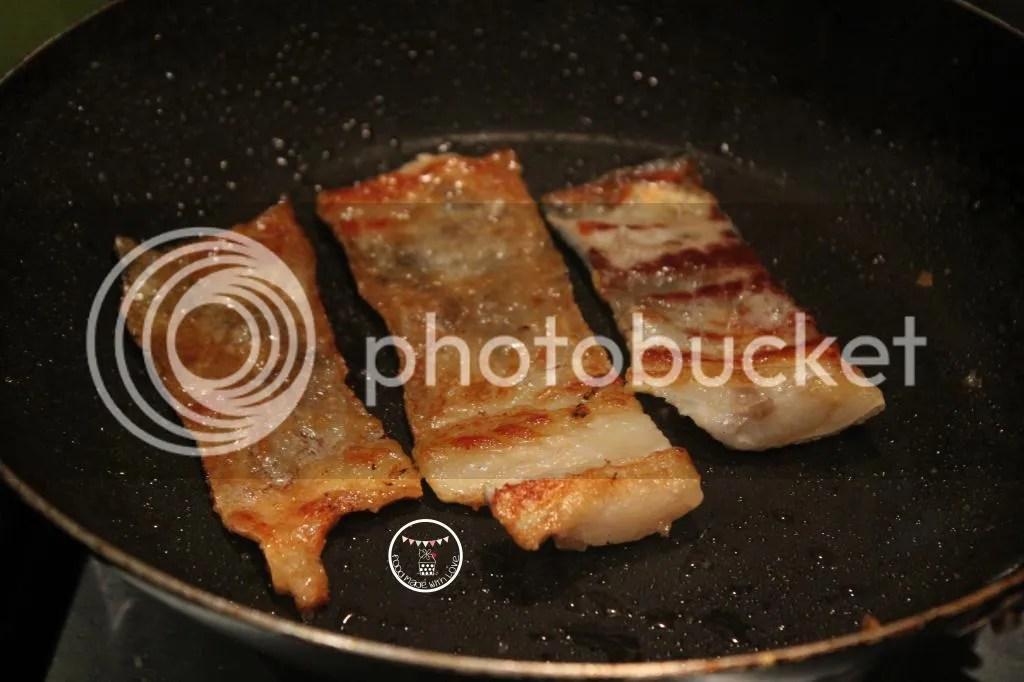 crispy salmon skin