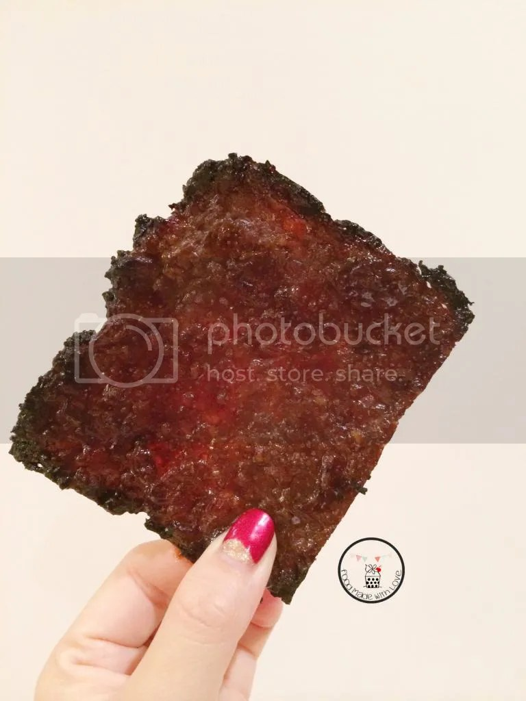 homemade bak kwa