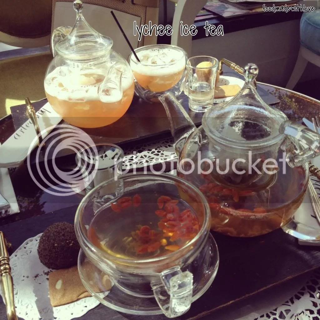 Lychee ice tea