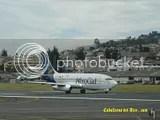 AeroGal B737 en Quito