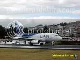 LAN A319 en Quito