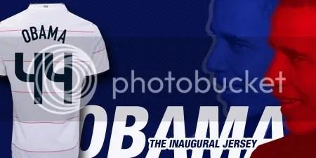 Barack Obama Nike 2008/09 USA Soccer Jersey