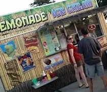 South Beach Concession Stand