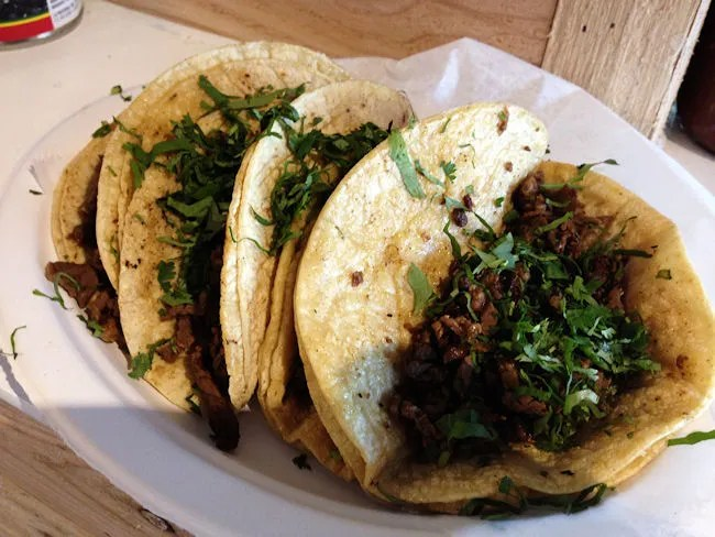Tacos El Cunado at the Downtown Market