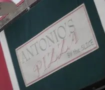 Antonios Pizza on Green Street in Champaign, IL