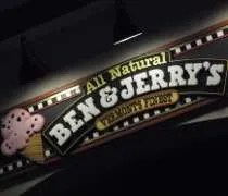 Ben & Jerrys Homemade Ice Cream on The Parkway in Sevierville, TN