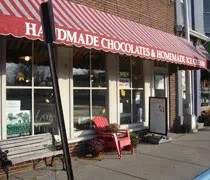 Fabianos Homemade Candy & Ice Cream in downtown Williamston