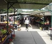 Fresh produce at the Fulton Street Farmers Market in Grand Rapids