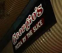 Georgios Gourmet Pizzeria on Charles Street in East Lansing.