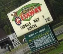 The Get-A-Way Saloon in Bridgman, MI