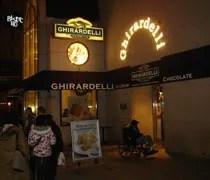 Ghiradelli Chocolate Shop on Michigan Avenue in Chicago