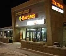 Hardees at an Indiana Toll Road Travel Plaza near Howe, IN
