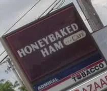 The Honeybaked Ham Company and Cafe on W. Saginaw Highway in Lansing.