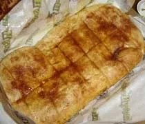 An order of Howie Cinnamon Bread from Hungry Howies Pizza