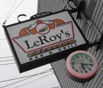 LeRoys Classic Bar & Grill on South Cedar Street in Lansing.